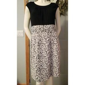 Calvin Klein Cinch Waist Slvless Sheath Dress, 12